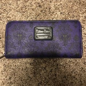 Handbags - Disney Parks loungefly Haunted Mansion wallet